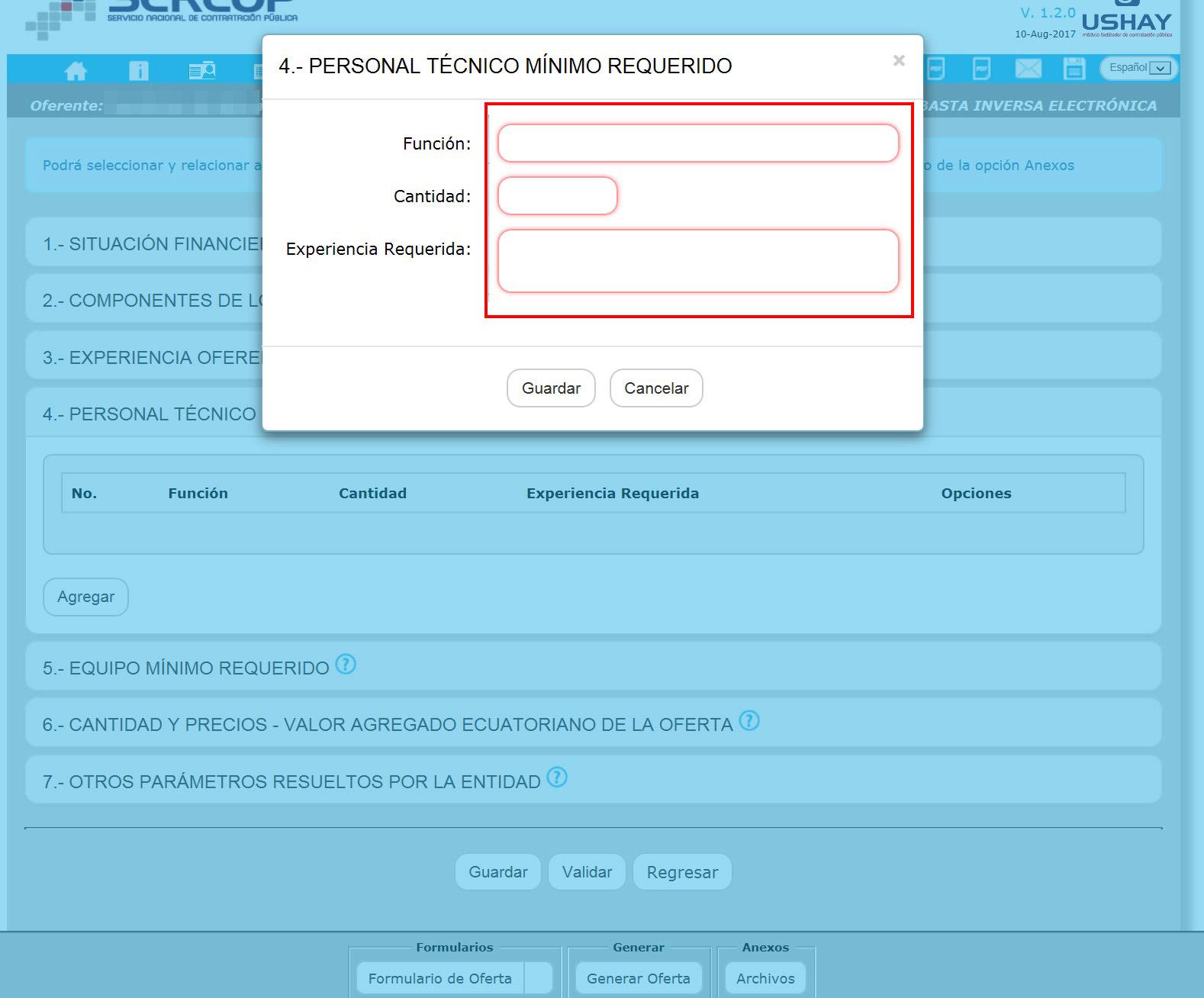 Cómo se llenan los formularios en un proceso de contratación pública ...